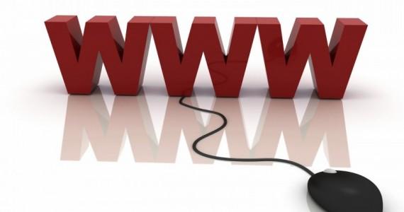 Надпись WWW и мышка
