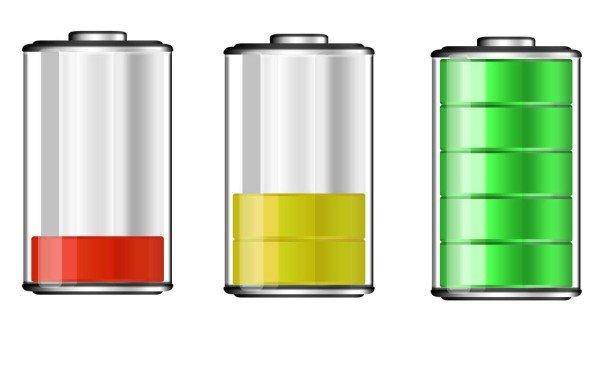 уровень заряда аккумуляторной батареи