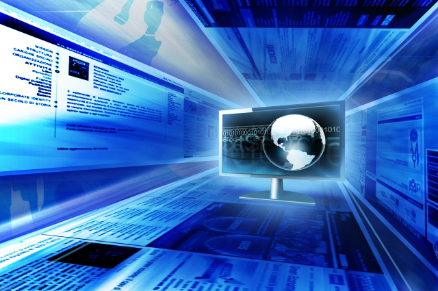 3D-изображение виртуальной сети