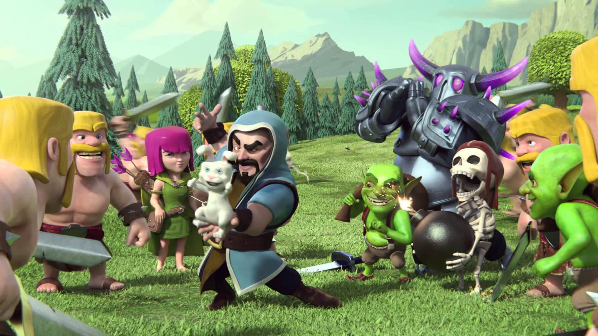 Скриншот игры Clash of Clans