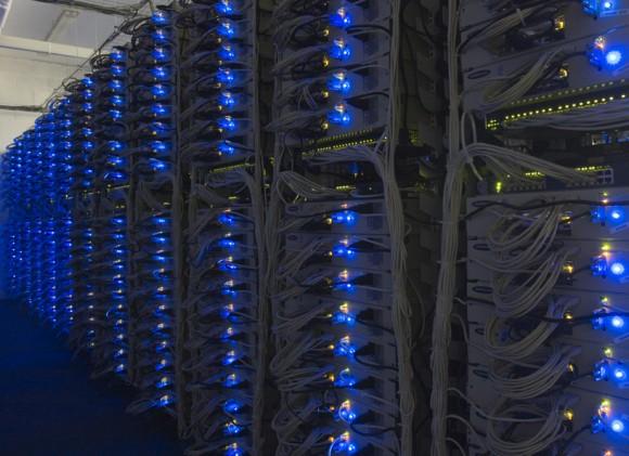 Сервера в дата-центре