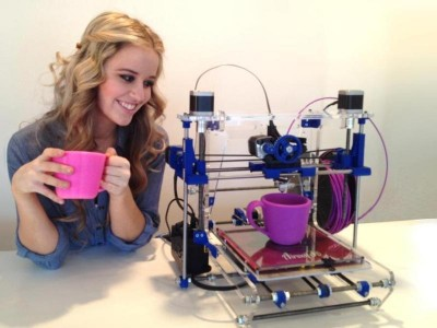 чашка из 3D принтера