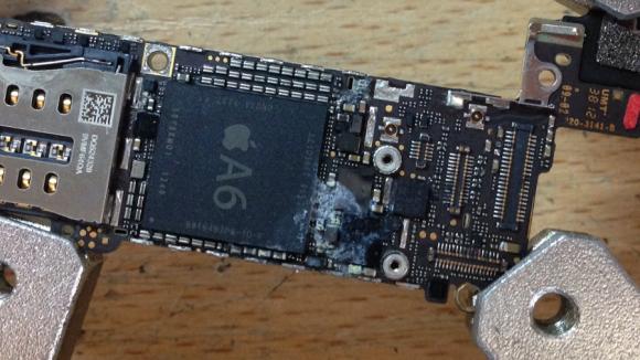 Чистка iphone