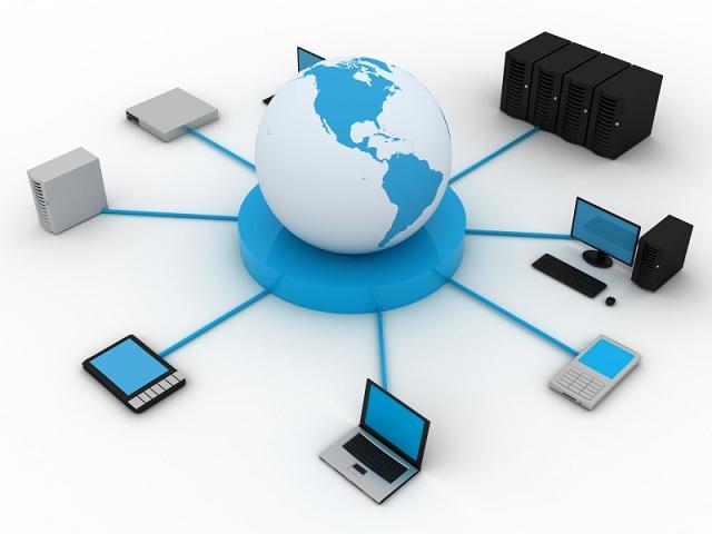 Схематический план локальной сети