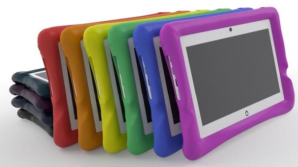 цветовая линейка детских планшетов