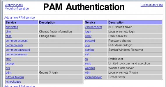 webmin-systempam