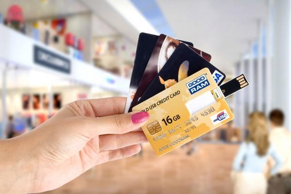 флешки в виде кредитных карт