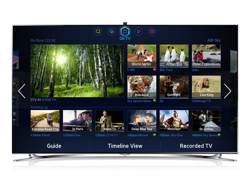 передняя панель телевизора Samsung UE40F8000