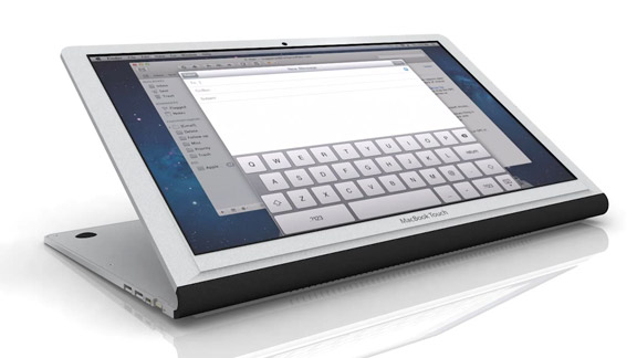 сенсорная клавиатура на ноутбуке