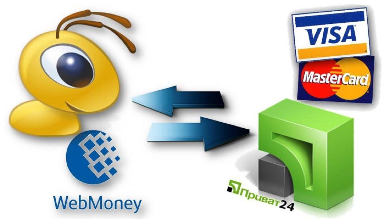 вывод вебмани на банковскую карту